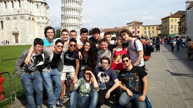 La squadra a Pisa